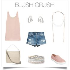 Blush is the color of the season and I've got a serious crush on this blush look!