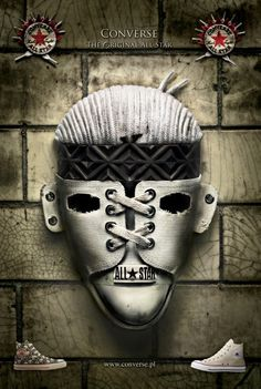 White Mask (Converse All-Star)