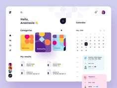 Medical service - App Design by Anastasia on Dribbble Web Design, Page Design, Flat Design, Design Layouts, Interface Design, User Interface, Ui Web, Responsive Web, Dashboard Design