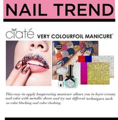 """""""Ciate Spring 2013 Colorfoil Manicure"""" by bduffy ❤ liked on Polyvore"""