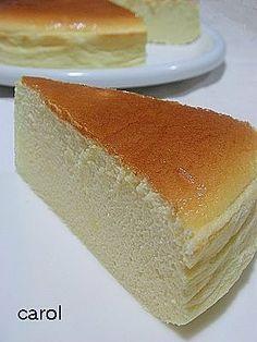 Carol comfortable life: a light cheesecake
