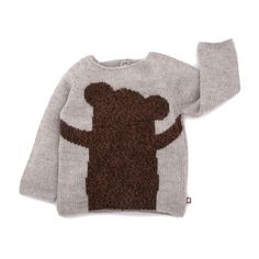 BEAR SWEATER #cute by Oeuf kids