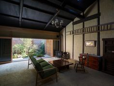 """Machiya house in Gosho-nishi"" by Kazuya Morita Architecture Studio Traditional Interior, Traditional House, Japan Interior, Interior Architecture, Interior Design, Japan Architecture, Japanese House, Architect Design, House In The Woods"