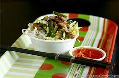 Bun Ga Nuong Xa - Grilled Chicken and Vermicelli Salad - Vietnamese Food - Vietnamese Recipes