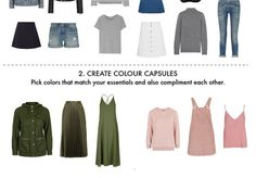 Packing for a Holiday: Colour Capsules