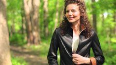 Katie Napa Lambskin Leather jacket