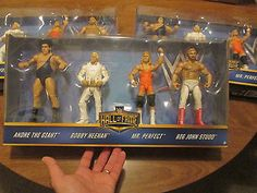 WWE Elite Hall Of Fame THE HEENAN FAMILY SET SERIE # 2 NEW 4 ACTION FIGURES