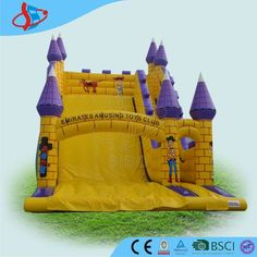 Kids Paradise! Sibo can help your children happy everyday when playing inflatable cartoon castle in garden, yard, theme park or amusement park. This  amusing inflatable slide toy is a funny way make adult to play with kids. It is popular inflatable slide to start your business. pls check:www.siboinflatable.com