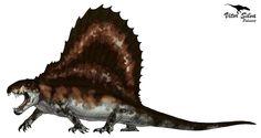 Vitor Silva - Paleoartista: Dimetrodon