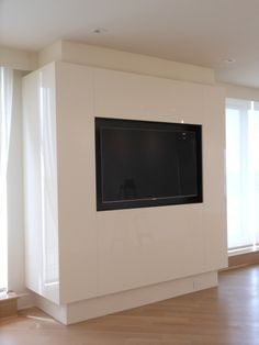 Media center designed and installed by AAI-Poggenpohl; Somerset Penthouse; contemporary.