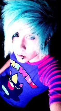 IT'S EMO BOY O'CLOCK ! ♥_____________________________ Click the image and check out some awesome Really Cute Emo Boys T-Shirts ________________