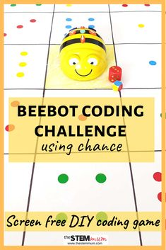 Do you want a STEM activity that combines coding and chance? Here is screen free coding activity to practice these STEM skills. Click through for instructions on how to DIY your own beebot mat. Positional Language, Kindergarten Stem, Stem Skills, Stem For Kids, Coding For Kids, Stem Science, Play Based Learning, Digital Technology, Stem Activities