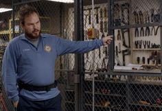 The inmates aren't having a great time at Litchfield, and neither is Joel Luschek. He's rather laid-back and not very emotional about most of the ongoing troubles in the prison, and just doesn't really take the time to care about much.