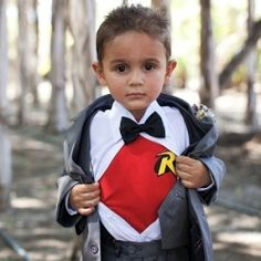 3 of the cutest page boy outfits and where to get them, with a superhero suit for the reluctant suit-wearer!(Photo Kevin LeVu Photography)