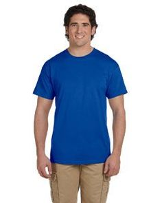 GILDAN ULTRA COTTON 10OZ./LIN. YD. T-SHIRT - ANTIQUE ROYAL - G200  Check out our shirts here: https://www.premierimagewear.ca/collections/t-shirts/products/gildan-ultra-cotton-10oz-lin-yd-t-shirt-antique-royal-g200