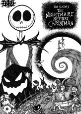 Nightmare Before Christmas Coloring Pages | Coloring Pages For