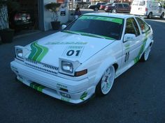 1985 Toyota Corolla  check out weird USDM based bodykit?!