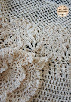 crochelinhasagulhas: Vestido de crochê manga longa