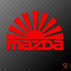 Mazda Rising Sun Arc - Vinyl decal sticker JDM Drifting RX8 MX5 RX7