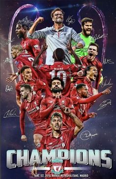 """Liverpool v Tottenham champions league final """"It's 🤩… """" Liverpool Team, Liverpool Tattoo, Liverpool Champions League, Liverpool Fc Wallpaper, Liverpool Wallpapers, Soccer Fans, Soccer Players, Juergen Klopp, This Is Anfield"""