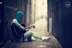 gitar hijab street style