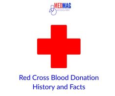 Red Cross blood donation history began in the year 1859 just as an idea from Henry Dunant; a Swiss man who after witnessing a bloody battle scene in Italy