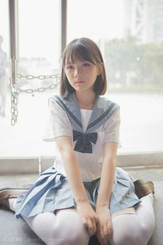 Check out these Japanes theme cosplay characters. School Girl Japan, Japan Girl, Japanese School Uniform, School Uniform Girls, Girls Uniforms, School Uniforms, Cute Asian Girls, Beautiful Asian Girls, Cute Girls