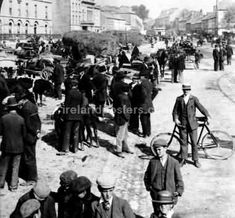 Eyre Square Galway, Ireland early 1900's