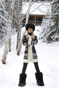 Ski Mountain-Fashion