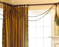 interesting ropes and tassels  Fabulous Window Treatments: September 2008