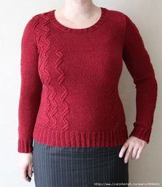 How to knit a sleeve on top. - crochet&knit wearables - Crafts world Drops Design, Master Class, Manga, Knit Dress, Knit Crochet, Pullover, Knitting, Sleeves, Tops