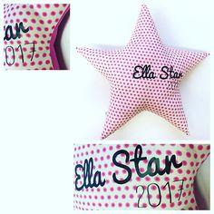 #23gobyflo #handmade #handmadewithlove #new #specialgift  #specialorder #cushion #star #stars #teengifts #teen #pink #dots #pink #pinkandblack #addyourname #babygift #babygirl  #baby #babylove #gift #minimalism #nurserydecor #teenager #nursery