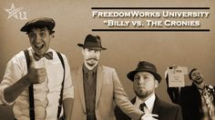 """FreedomWorks University """"Billy vs The Cronies"""" Ron Paul, Common Myths, University, Faith, American, Community College, Believe, Colleges"""
