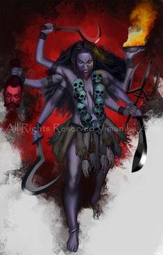 Kali Shiva, Kali Hindu, Durga Puja Wallpaper, Mother Kali, Divine Mother, Kali Mantra, Indian Goddess Kali, Kali Tattoo, Maa Durga Image
