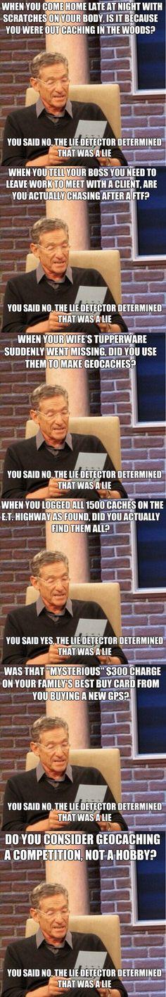 Hahaha #geocaching