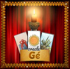 A free three card reading of the Ge Oracle, a personalised interpretation of the 61 cards of the Ge Oracle, predictions concerning your future by the cartomancy of Gerard Barbier.