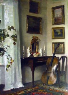 Carl Vilhelm Holsoe (Danish artist, 1863-1935)