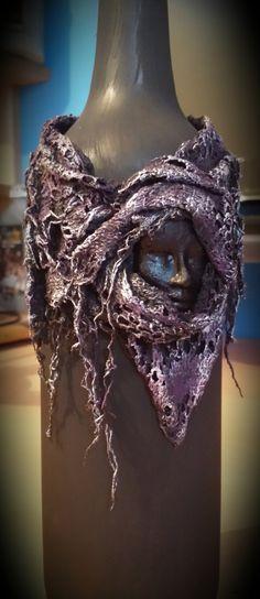 Powertex Bottle Cuff by Heather's Craft Studio on Etsy