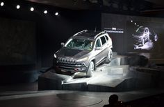 2014 Jeep Cherokee Trailhawk at the 2013 New York International Auto Show