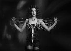 Nika Danielska Designs on Haute Macabre