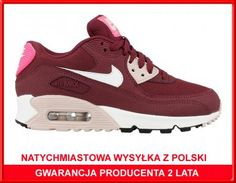 separation shoes 4d1bb 7c34f BUTY DAMSKIE NIKE AIR MAX 90 ESSENTIAL 616730-600 - 6356098797 - oficjalne  archiwum allegro