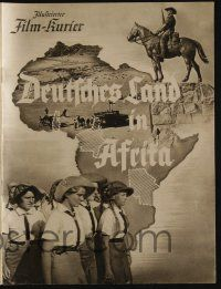 6d069 DEUTSCHES LAND IN AFRIKA German program '39 obligatory images of topless African natives!