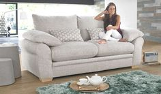 With its graceful and cool style the Mangor is sure to find a place in any room. The designer bolster cushions compliment the sofa giving it personality and individuality adding to its exceptional comfort. The Mangor is a one of a kind model and is only available at Sofaworks.