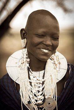 Maasai woman, just beyond gorgeous.