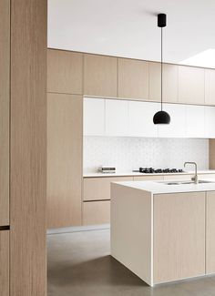 Modern Kitchen These minimalist kitchen suggestions are equal components calm and also trendy. Discover the finest ideas for your minimalist design kitchen that matches your preference. Browse for fantastic photos of minimalist design kitchen for ideas. Interior Design Trends, Interior Design Minimalist, Modern Kitchen Design, Minimalist Decor, Contemporary Interior, Interior Design Kitchen, Kitchen Contemporary, Minimalistic Kitchen, Modern Minimalist