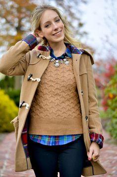 Katie's Bliss | Camel Duffle Coat katiesbliss.com