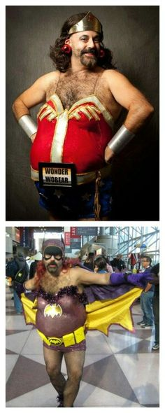 I have said before that there is no bad cosplay ... cosplay is for everyone. I stand corrected.