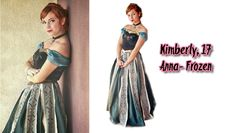 H-SAMA blog: COMO FAZER? Anna - Frozen (vestido verde)
