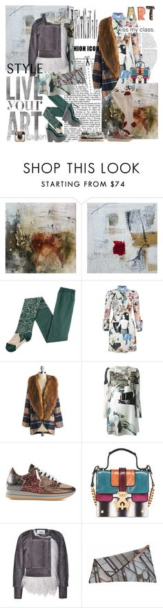 """Carven art dresses collage & print"" by vilen ❤ liked on Polyvore featuring Eley Kishimoto, Carven, Tory Burch, Philippe Model, Giancarlo Petriglia, Prabal Gurung, Georgina Skalidi and Sonia Rykiel"