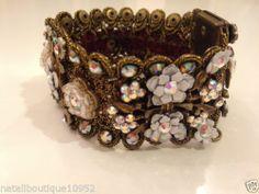 Michal Negrin  Flowers Bracelet
